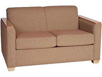 AC Furniture 94002 Loveseat w/ Wood Trimmed Arm - Grade 1, 94002-grade1, 94002 grade1, 94002grade1