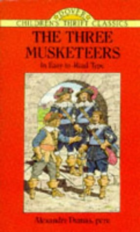 Image for The Three Musketeers (Dover Children's Thrift Classics)