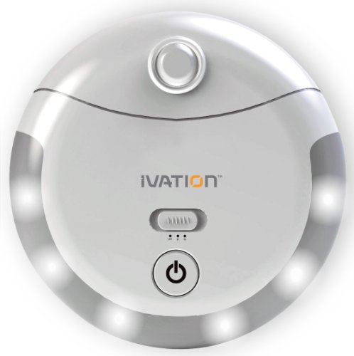 Ivation 6 Led Automatic Motion-Sensing Night Light - Battery Powered Hallway Light With A Built In Motion And Light Sensor And Adjustable Light Timer