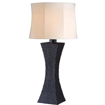 Kenroy Home 32204 Weaver 1 Light Outdoor Table Lamp,