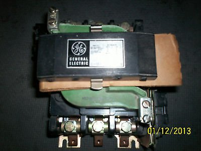 General Electric Ge Magnetic Motor Starter Cr205E000Aad Nema 3 3 Ph 30Hp Cr205