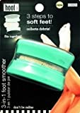 Hoof 3 In 1 Foot Smoother & Callus Remover Includes Callus Rasp, Pumice Stone & File