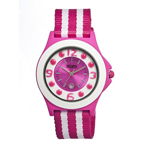 crayo-cracr0705-reloj-correa-de-nailon-color-fucsia