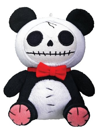 Pandie Furry Bones Small Plush (H: 5.25