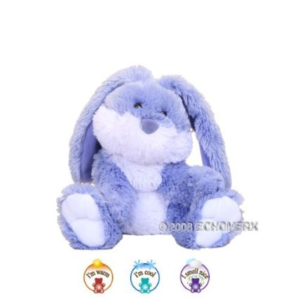 Aroma Bunny Romeo- Aromatherapy Stuffed Animal - Hot And Cold Therapy (Microwave Animal compare prices)