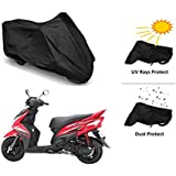 CreativeVia 2 IN1 Protection Bike Cover For Yamaha Ray/ Ray Z - Black