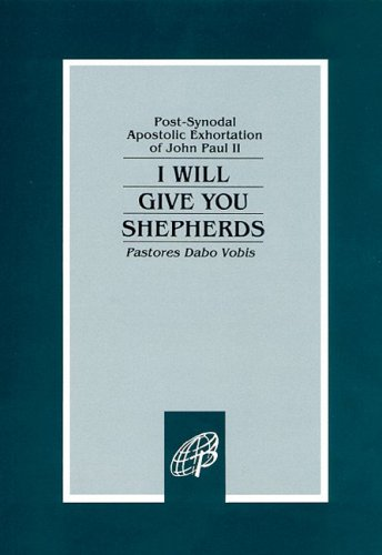 I Will Give You Shepherds