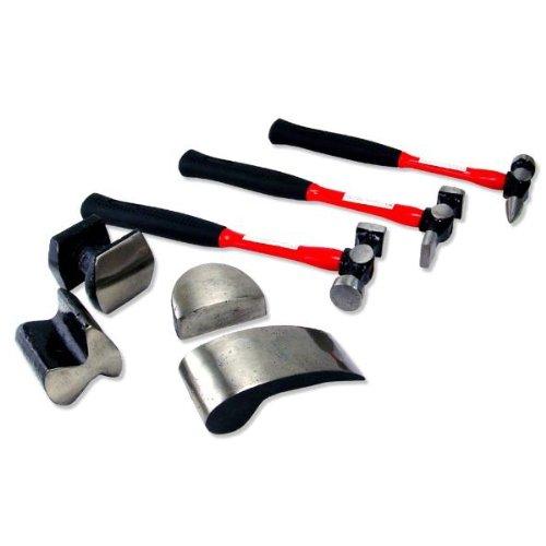 7 Pc Neiko Heavy Duty Auto Body Repair Kit
