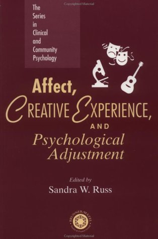 Affect Creative Experience And Psychological Adjustment The Series in Clinical and Community Psychology087639019X : image