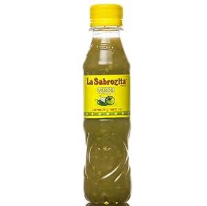 La Sabrozita Homestyle Tomatillo Salsa (Salsa Verde), 7-Ounce Bottles (Pack of 24) from La Sabrozita