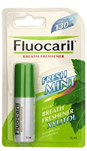 Fluocaril Breath Freshener Mouth Spray ,Fresh Mint 15ml