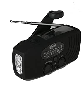 Freeplay Energy Companion Self-Sufficient Radio, Flashlight and Cellphone Charger (Black)