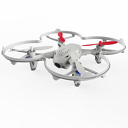 Hubsan-H107D-FPV-X4-Drone-480P-Camera-Live-Video-58GHz-Quadcopter-with-Protection-Cover-Mode-2-RTF-White