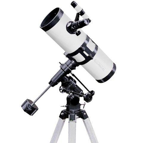 "White Twinstar 4.5"" Reflector Telescope Fast F/4.4 Eq Mount"