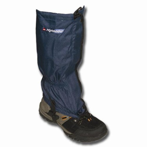 Highlander Walking/hiking Wateproof Boot Gaiters Blue