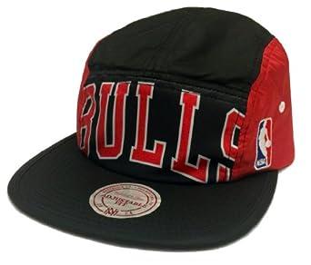 Chicago Bulls Mitchell & Ness Alternate 5 Panel HWC Camper Clipback Hat by Mitchell & Ness