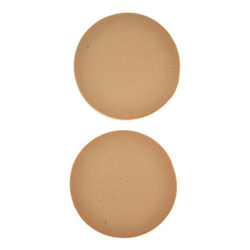 Make-up-Zubehör - Kosmetikschwamm Make-up Schwamm rund mittlere Dicke Latex.