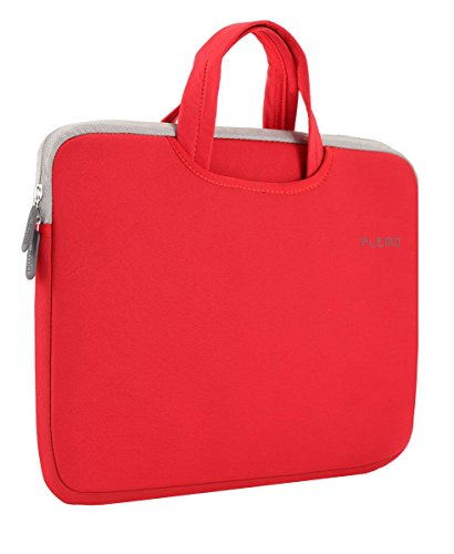 plemo-housse-pour-pc-portable-macbook-macbook-pro-macbook-air-13-133tissu-de-nylon-lycra-rouge