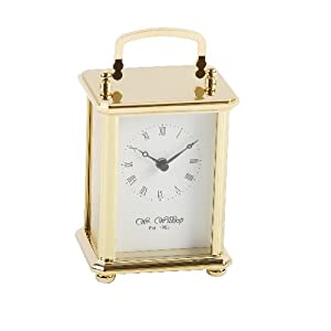 Solid Brass Quartz Carriage Clock