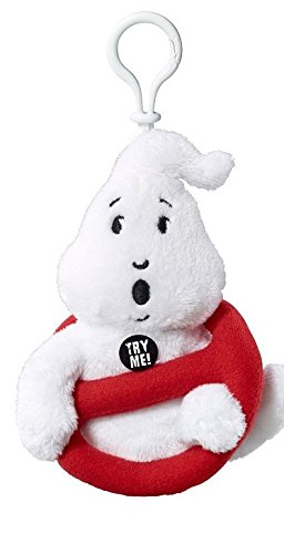 Ghostbusters GB03692  - Mini Clip-On Plush With Sound No Ghost