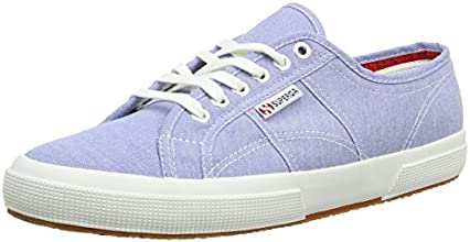 Superga 2750 Cotushirt, Baskets mode mixte adulte - Bleu (A26 Oxford Lt Blue), 42 EU (8 UK)
