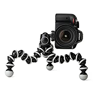 JOBY Gorillapod SLR Zoom Tripod with Ball Head Bundle for DSLR Cameras - Lightweight, Portable and Flexible