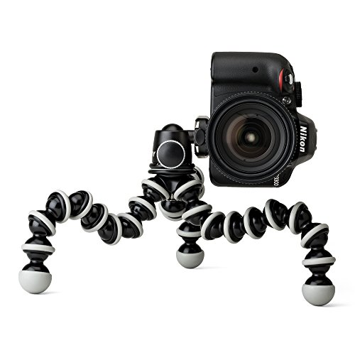 Joby GorillaPod SLR Zoom Tripod with Ball Head Bundle for DSLR and Mirrorless Cameras