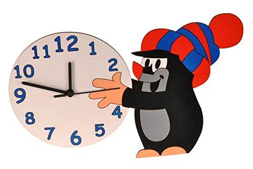 Wanduhr Uhr – der kleine Maulwurf – Kinderzimmer günstig