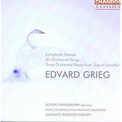 Grieg: Symphonic Dances / 6 Orchestral Songs
