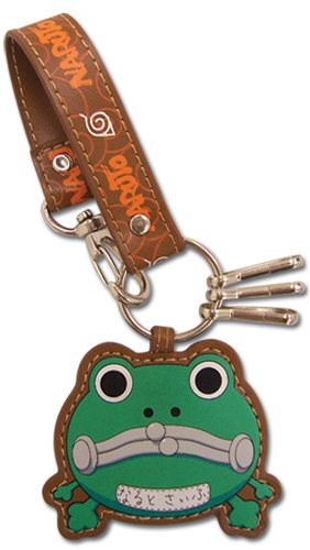 Naruto Frog Purse Leather Keychain GE-3871 - Buy Naruto Frog Purse Leather Keychain GE-3871 - Purchase Naruto Frog Purse Leather Keychain GE-3871 (GE Animation, Apparel, Departments, Accessories, Wallets, Money & Key Organizers, Key Chains)