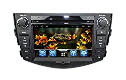 See lsqSTAR 7 inch Android 4.2 In Dash Double Din Touch Screen Car DVD Player GPS Navigation Navi Stereo AM/FM Radio Support 3G/Wifi Bluetooth Steering Wheel 8GB SD Map Card as Gift For Toyota RAV4 2006-2012 Details