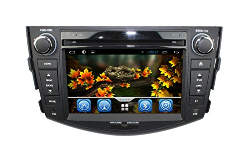 Lsqstar Android 4.2 Dual Core Touch Screen Car Stereo Bluetooth Multimedia Player For Toyota Rav4