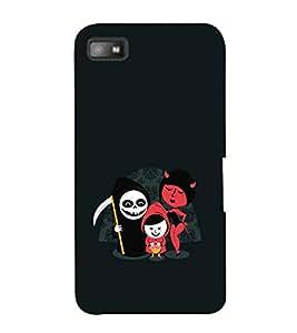 EPICCASE devils Mobile Back Case Cover For BlackBerry Z10 (Designer Case)