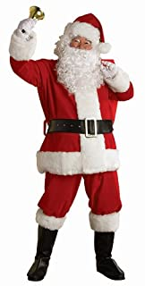 Rubie's Costume Regal Plush Santa Suit, Red/White, X-Large Costume