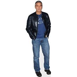 Silueta de George Clooney a Tamaño Natural con Soporte, Gastos de Envío Gratis al Reino Unido