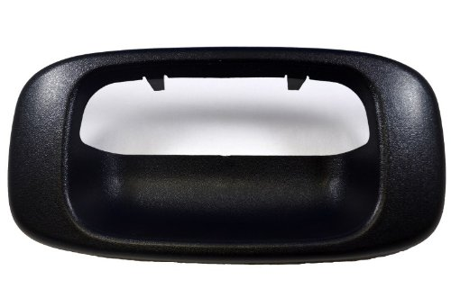 PT Auto Warehouse GM-3523A-BZ - Tailgate Handle Trim/Bezel, Textured Black (99 Silverado 1500 Trim compare prices)