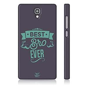 Be Awara Best Bro Ever Back Case for Xiaomi Mi 4