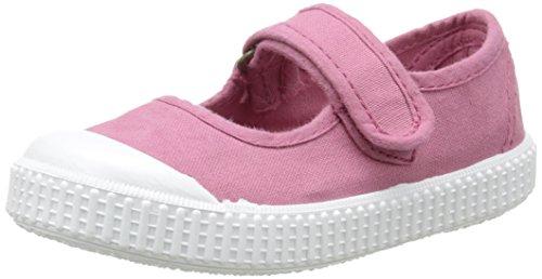 VictoriaMercedes Velcro Lona Tintada - Sneaker Unisex - Bambini , Rosa (Rose (09 Frambuesa)), 28