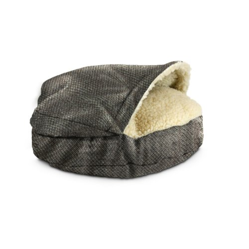 Snoozer Luxury Orthopedic Cozy Cave Pet Bed, Large, Shona Granite