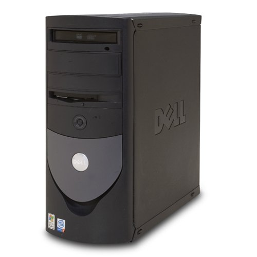 Dell Optiplex GX270 Tower Desktop PC, Pentium 4 HT 3.2GHz, 1GB Memory, 500 GB Hard Drive, DVD-Rom, Windows XP Professional SP3 pre-installed