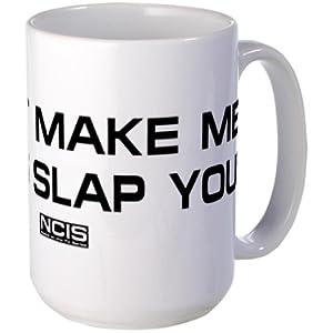 CafePress NCIS: Gibbs Slap Large Mug Large Mug - Standard Multi-color