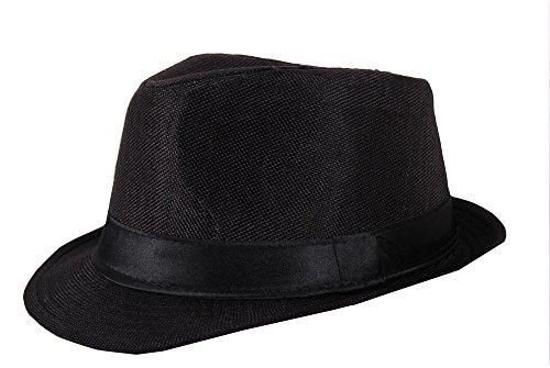 Detective black Fidora Hat For Men