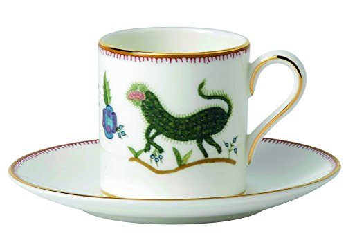 Wedgwood Mythical Creatures Espresso Cup and Saucer Set
