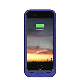 Mophie Juice Pack Air - Slim Protective Mobile Battery Pack Case for iPhone 6/6s - Purple (Certified Refurbished)
