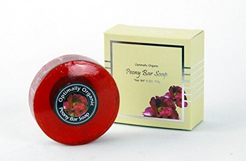 Organic Bar Soap (5oz) - Peony Soap - 1