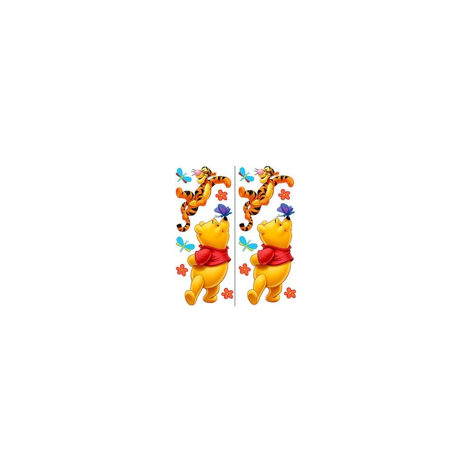 Pooh & Friends Peel & Stick Nursery Kids Room Wall Art Sticker Decals