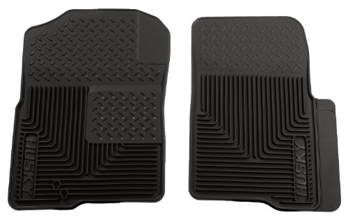 Husky Liners Custom Fit Heavy Duty Front Floor Mat For Select Ford/Nissan/Lincoln Models (Black) back-52826