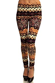 PLUS SIZE High Quality Printed Leggin…