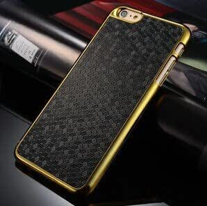 Excelsior Premium Diamond Style Back Cover Case iPhone 6 4.7 inch (Black)
