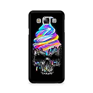 Mobicture Skull Abstract Premium Printed Case For Samsung E5